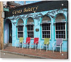 Ceres Bakery In Portsmouth Nh Acrylic Print