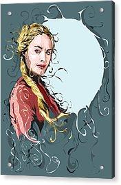 Cersei Lannister Acrylic Print by Jason Longstreet