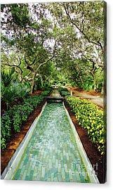 Cerulean Park Acrylic Print