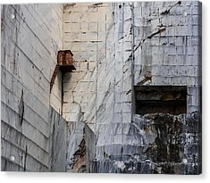 Cervaiole Quarry - Apuan Alps, Tuscany Italy Acrylic Print