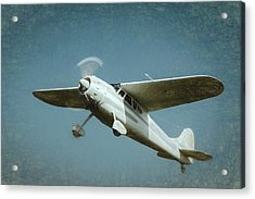 Acrylic Print featuring the photograph Cessna 195 by James Barber