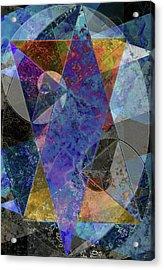 C'est La Vie Acrylic Print by Kenneth Armand Johnson