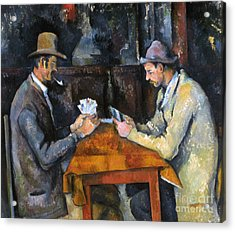 Cezanne: Card Player, C1892 Acrylic Print by Granger