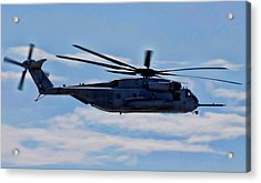 Ch-53d Sea Stallion - 2 Acrylic Print by Tommy Anderson