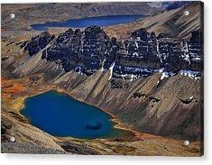 Chacaltalya Climb To 17800 Feet 15 Acrylic Print by Skip Hunt
