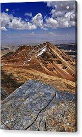 Chacaltalya Climb To 17800 Feet 16 Acrylic Print by Skip Hunt