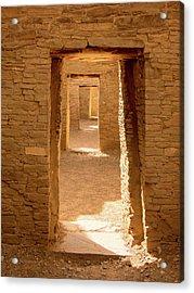 Chaco Ancient Doors   Acrylic Print
