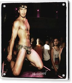 Acrylic Print featuring the photograph Chad Stewart. At A Gogo Boy Appearance by Mr Photojimsf