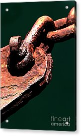 Acrylic Print featuring the photograph Chain Age II by Stephen Mitchell