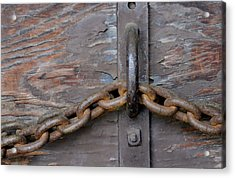 Chain And Grain Acrylic Print by Dan Holm