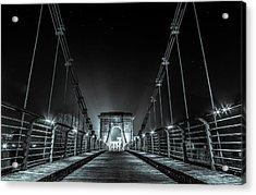 Chain Bridge Acrylic Print