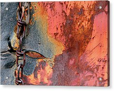 Chained Acrylic Print by Doug Hockman Photography