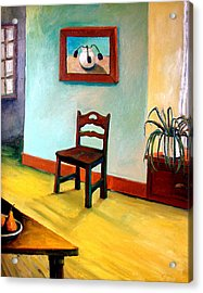 Chair And Pears Interior Acrylic Print