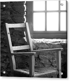 Chair By Window - Ireland Acrylic Print by Mike McGlothlen