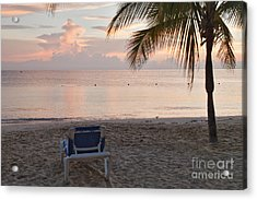 Chair For One Acrylic Print