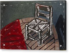 Chair II Acrylic Print by Peter Allan