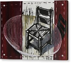 Chair Vi Acrylic Print by Peter Allan