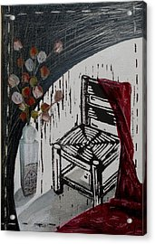Chair Viii Acrylic Print by Peter Allan