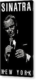 Chairman Of The Board Acrylic Print by Dan Menta