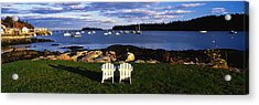 Chairs Lobster Village Me Acrylic Print by Panoramic Images