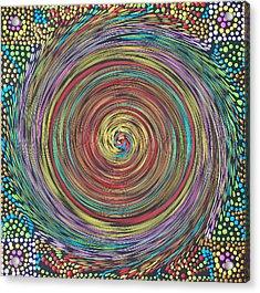 Chakra Swirl Acrylic Print