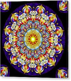 Chakra Zendala Acrylic Print