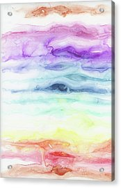 Chakras Acrylic Print by Emily Magone