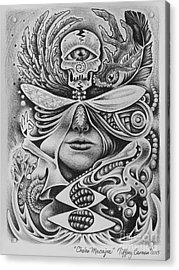 Chalan Macajna Acrylic Print by Tiffany Carman