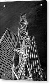 Challenger Memorial In Miami Acrylic Print by William Wetmore