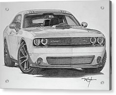 Challenger R/t Acrylic Print