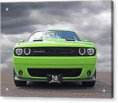 Challenger Scat Pack Acrylic Print