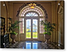 Chamberlin Hotel Acrylic Print by Williams-Cairns Photography LLC