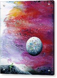 Chameleon Moon Acrylic Print by Lee Pantas