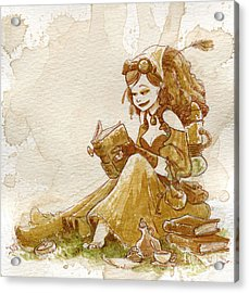 Chamomile 2 Acrylic Print by Brian Kesinger