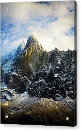 Acrylic Print featuring the photograph Chamonix by Lucian Capellaro