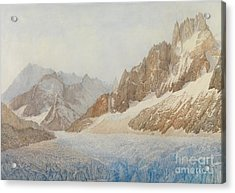Chamonix Acrylic Print by SIL Severn