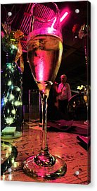 Acrylic Print featuring the photograph Champagne And Jazz by Lori Seaman