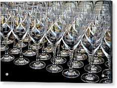 Acrylic Print featuring the photograph Champagne Army by Stephen Mitchell