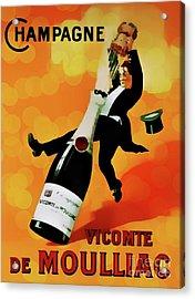 Champagne Celebration Acrylic Print by Ian Gledhill
