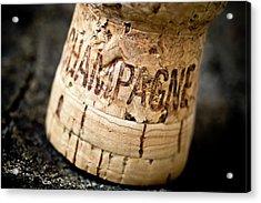 Champagne Acrylic Print by Frank Tschakert
