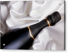 Champagne Glow Acrylic Print