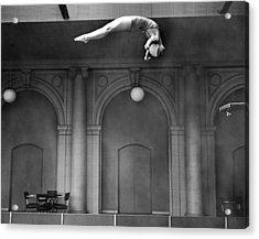 Champion Helen Crlenkovich Acrylic Print by Underwood Archives