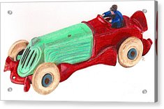 Champion Racer Acrylic Print