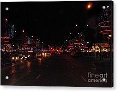 Champs-elysees To The Arc De Triomphe Paris Acrylic Print