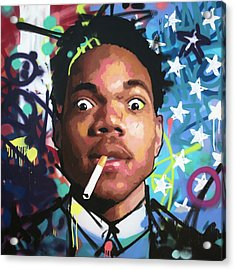 Chance The Rapper Acrylic Print