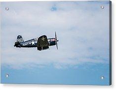 Chance Vought F4u-4 Corsair Acrylic Print