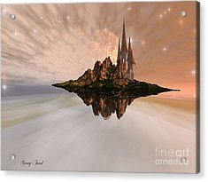 Chandara Acrylic Print by Corey Ford