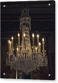Chandelier Acrylic Print by Martin Newman