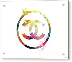Chanel Logo Acrylic Print