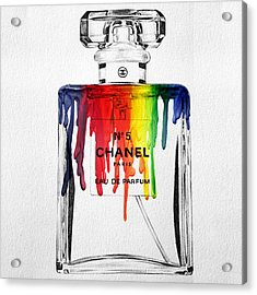 Chanel  Acrylic Print by Mark Ashkenazi